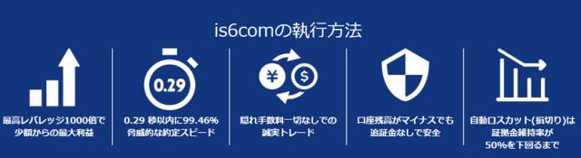 is6comの注文の特徴